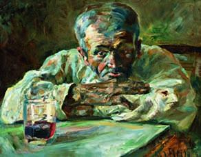 Le Buveur, Père Mathias, Henri de Toulouse Lautrec, 1882
