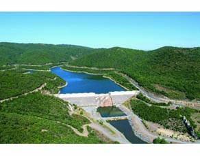 Le barrage des Olivettes (Hérault)