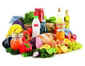 Des aliments variés