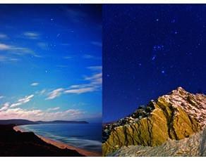 Mêmes étoiles observées des deux hémisphères