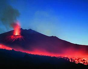 L'éruption de l'Etna en mai 2015