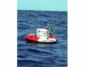 Bouée de détection des tsunamis