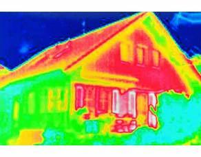 Thermographie d'une habitation individuelle