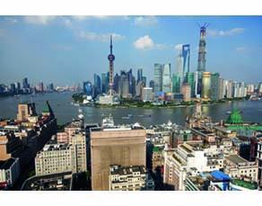 La ville de Shanghai en 2010