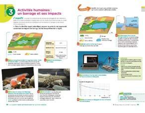 Activités humaines : un barrage et ses impacts