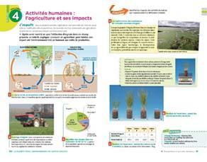 Activités humaines : l'agriculture et ses impacts