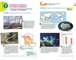 Activités humaines et impacts globaux