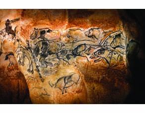Caverne du Pont d'Arc, réplique de la grotte Chauvet-Pont d'Arc, France