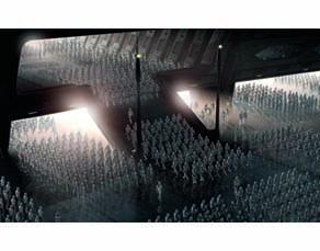 Star Wars Épisode II- L'attaque des clones (2002). Film américain réalisé par George Lucas