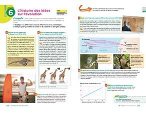 L'histoire des idées sur l'évolution