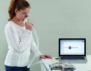 Mesure du rythme respiratoire par ExAO