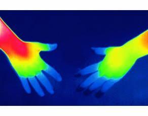 Les symptômes de la réaction à une blessure : thermographie