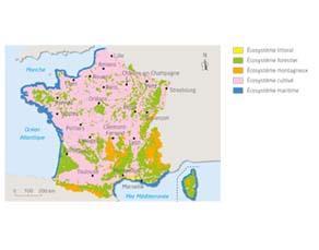 La diversité des grands écosystèmes de la France métropolitaine