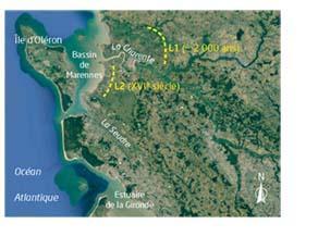 Conséquence de la sédimentation des argiles sur le bassin de Marenne