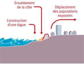 Des aménagements pour limiter le risque lié à l'érosion du littoral