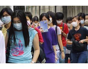 Une épidémie virale de SRAS à Hong Kong