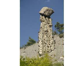 Structure des cheminées de fée