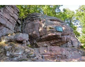 Affleurement de roches sédimentaires détritiques