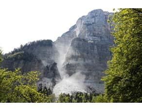 Un éboulement au mont Granier