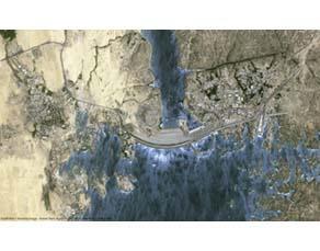 Le barrage d'Assouan sur le Nil