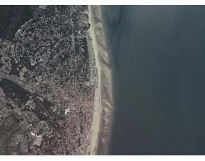 La côte à Soulac-sur-Mer en 2012