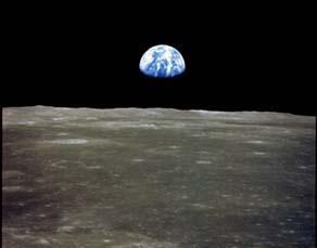 «Lever de Terre» vu depuis la Lune