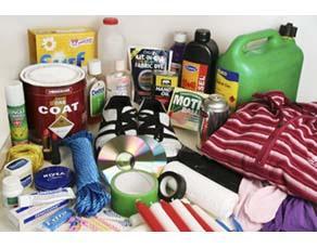 Divers produits de consommation courante fabriqués à partir du pétrole