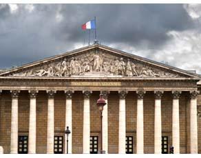 L'assemblée nationale, où sont votées les lois concernant la santé publique en France