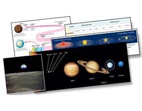 Le système solaire et l'histoire de la Terre