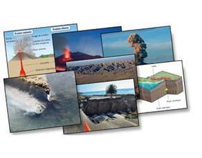 Des phénomènes géologiques, témoins d'une activité interne