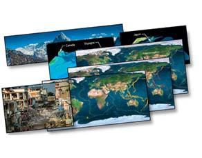 L'organisation géologique de la Terre en surface